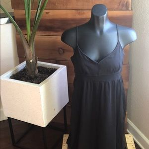 Anne Taylor Loft Black Sundress